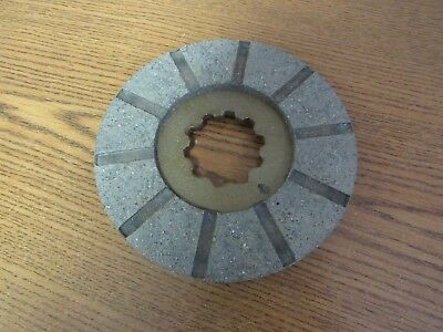 John Deere Mt Tractor 5 Brake Disc-10 Spline  Am852t  9526