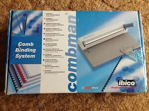 Brand new Comb Binding System