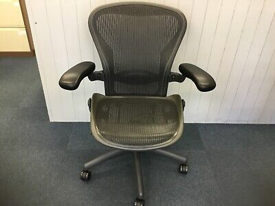 Herman Miller Aeron Office Chair Size B, Free Delivery in Essex. All Refurbished