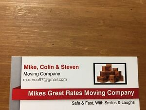 Mikes Great Rates Moving Company