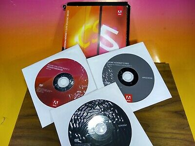 Adobe Creative Suite 5 CS5 Design Premium Acrobat 9 - MAC OS