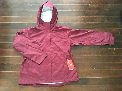 NWT The North Face Women's Venture 2 Jacket XXL Deep Garnet Red $99