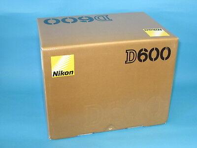 New Nikon D600 24.3MP Digital SLR Camera - Black Body + 16GB with Nikon Warranty