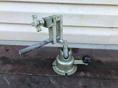 Vintage Wilton Powrarm Junior Pow-r-arm With Vise Made In Usa