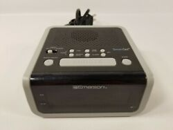 Emerson CKS1708 Smart Set Radio Setting Alarm Clock CKS1702 Tested G Condition