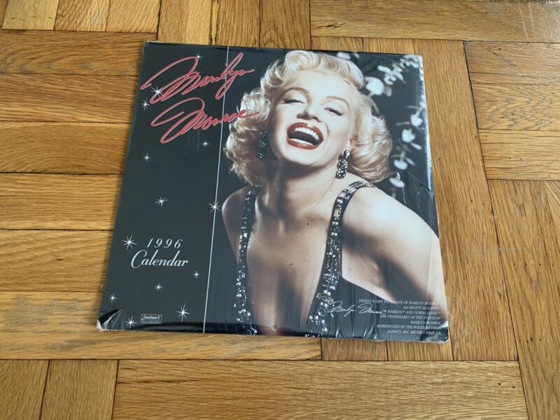 Marylin Monroe 1996 Calendar New