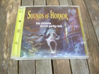 NEW! Sounds of Horror: The Ultimate Horror Party Rock Halloween (CD, 2000) - Halloween Horrors The Sounds Of Halloween