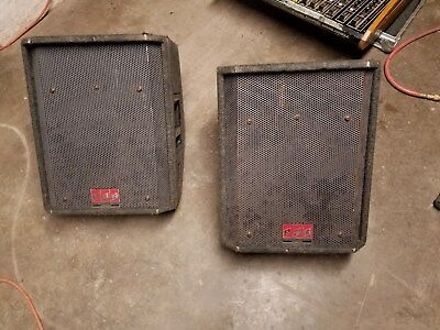 Pair of PAS TOC SW1.2 monitors - Used