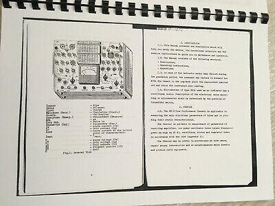 Kalibr L3-3 Electron Vacuum Tube Tester Printed English Manuals Pdf File Cards