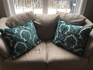 Two Chenille Rodeo Home Accent Pillows