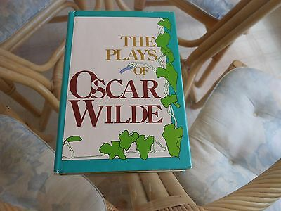 The Plays Of Oscar Wilde   Hardcover