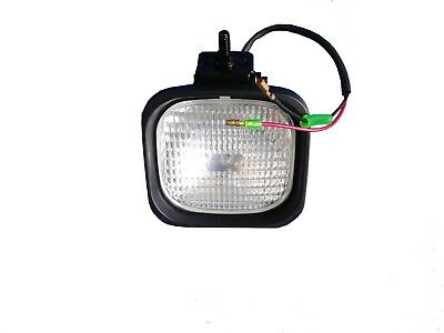 Forklift Lamp- Head Glass Lens 12 Volts Part Mb05101-05300