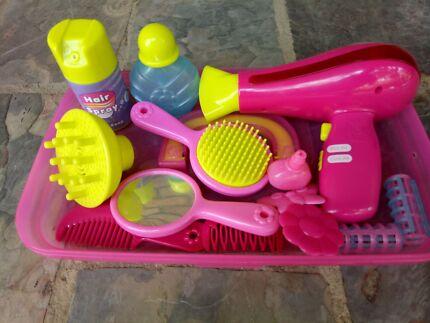Kids toy Hairdresser & Hair Mannequin Set