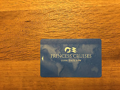 Princess Cruise Line Sea Pass Card - Blank