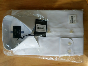 MJ Bale White Business Shirt Wilberforce Hawkesbury Area Preview