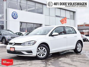 2018 Volkswagen Golf 5-Dr 1.8T Trendline 6sp at w/Tip Back UP Ca