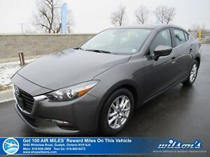 2017 Mazda Mazda3 GS | SUNROOF | HTD SEATS | REAR CAMERA | BLIND