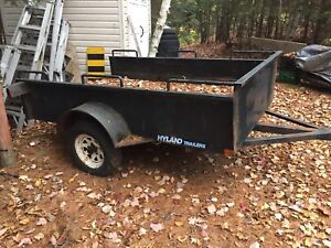 4x8 HYLAND trailer. Needs work.