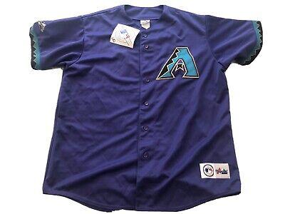 Purple Majestic Arizona Diamondbacks Baseball Jersey Mens 2XL XXL