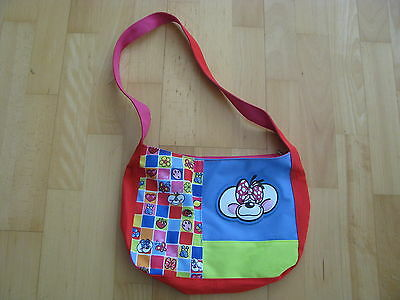 Diddl Diddlina Umhängetasche Kindertasche bunt ca. 20 cm hoch 27 cm breit