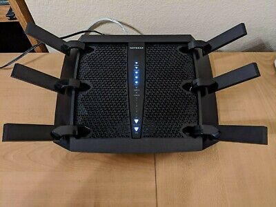 Used Netgear R8000 Nighthawk X6 AC3200 Tri Band WiFi Gigabit Router