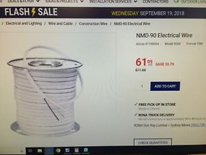 14/2 Wire on Special at Don Ray Lumber