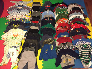Winter Clothing Lot Size 12-18 months