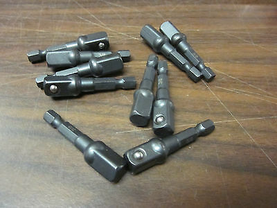 10 Impact 38 Power Extension 2 Bit Socket Driver Fits Dewalt Screw Gun