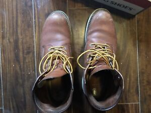 Red wing 8166 boots us 10