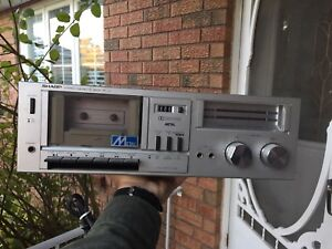 Sharp stereo cassette deck RT-10 audiophile