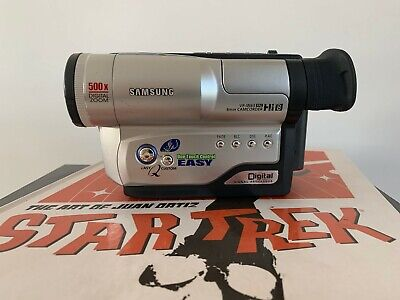 SAMSUNG VP-W63 ANALOGUE CAMCORDER (Hi8 8mm Video 8 Playback)