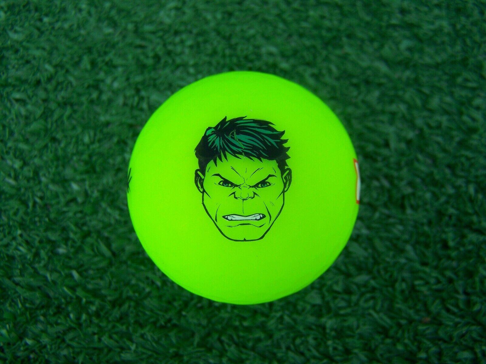 Volvik Vivid Limited Edition Marvel Series Hulk Golf Ball Br
