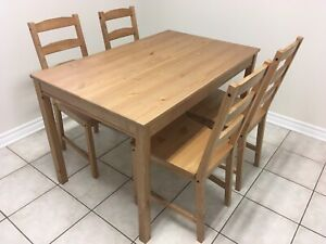 Ikea Jokkmokk Dining Table Set Tables Sets Ottawa Kijiji Rh Ca Room