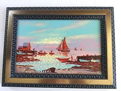 Val McGann, American, Oil Painting Signed,  CABOT COVE MAINE - L4 for sale  Wells