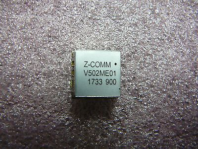 Z-comm Voltage Controlled Oscillator Vco V502me01 800mhz-1650mhz New