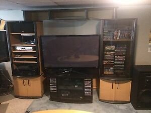 Entertainment Centre with TV Stand - Media Centre