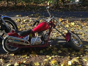 50 cc with kick start and 4 gears