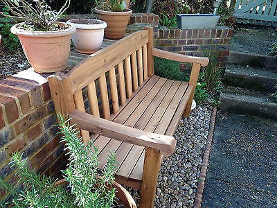 Garden Bench, HEAVY DUTY, 3 seater, Delivered FULLY ASSEMBLED. High seat.