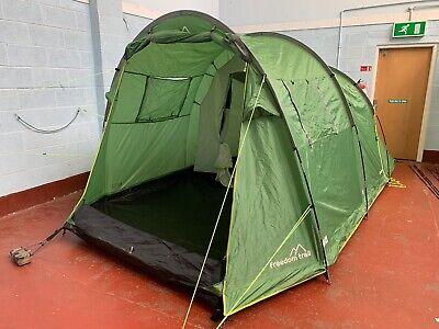Freedom Trail Sendero 4 Man Berth Tent ** RRP £180 ** Family Camping 565