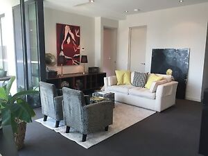 Fully Furnished LUXURY apartment St Kilda Rd with Car Park & WiFI Albert Park Port Phillip Preview