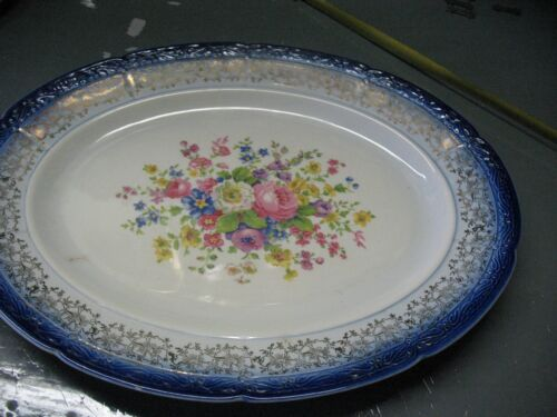 NEW  YORKER  by SALEM  CHINA  CO. OVAL  PLATTER  13
