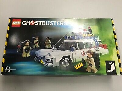 100% MISB NIB BRAND NEW SEALED LEGO IDEAS 21108 GHOSTBUSTERS CAR VEHICLE ECTO-1