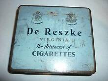 Vintage De Reszke Virginia Cigarettes Tobacco Collector Tin. Prospect Launceston Area Preview