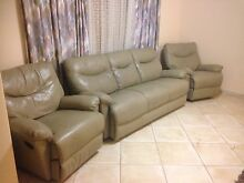 Luxury leather recliner  lounge suite sofa set Stirling Stirling Area Preview