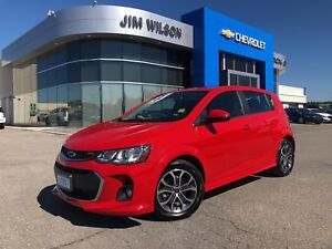 2018 Chevrolet Sonic LT Auto HEATED SEATS SUNROOF REAR CAMERA!!!