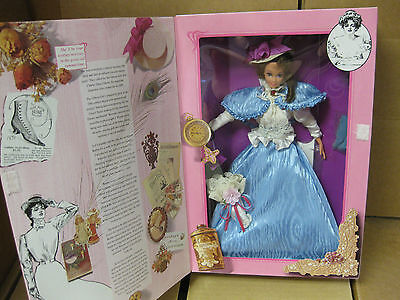 1993 Gibson Girl Barbie doll- The Great Eras Collection- Signed!!