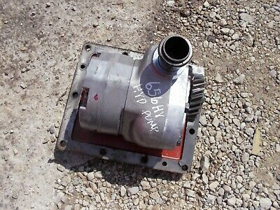 International Farmall 656 Rowcrop Hydro Tractor Hydraulic Pump Assembly Cover