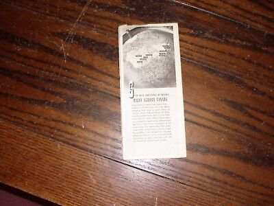 Eaton road map of Ontario 1947 the T. Eaton co Limited