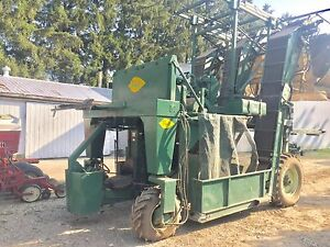 Powell Automatic Tobacco harvester
