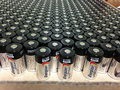 25 New Energizer Lithium Cr123 Cr123a 123 123A 3V Battery Exp  2027 Free Ship